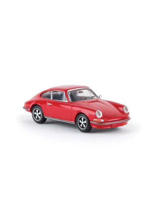 brekina 16230 porsche 911 red