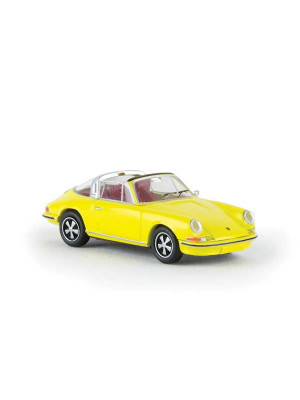 brekina 16263 porsche 911 targa yellow