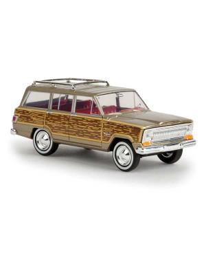 brekina 19856 jeep wagoneer wdy sds gold