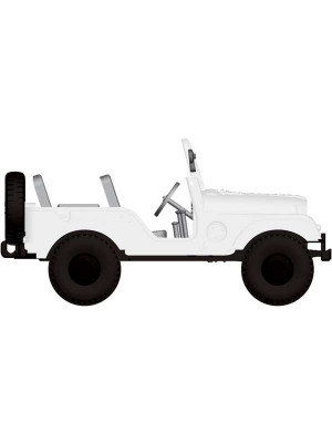 brekina 58902 jeep white