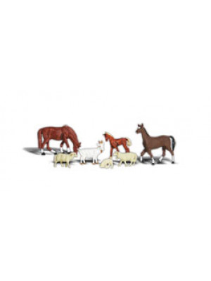 woodland scenics 1844 livestock