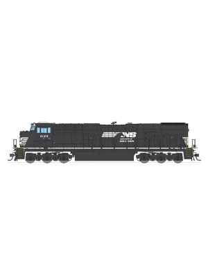 broadway limited 2810 n.s. es44ac #8130 dcc/snd/sm