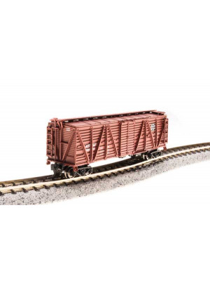 broadway ltd 3566 atsf stock car w/chicken snds