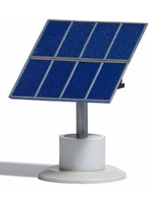 busch 1162 solar module concrete base