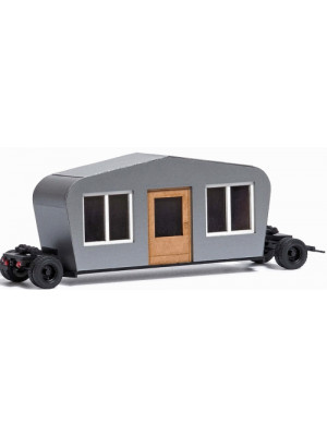 busch 1407 trailer w/building