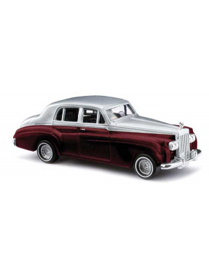 busch 44421 1959 rolls royce maroon & silver