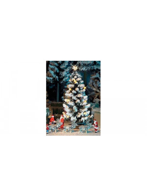 busch 5411 lighted christmas tree
