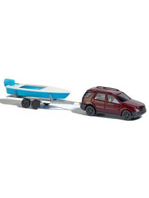 busch 8334 mercedes benz w/boat