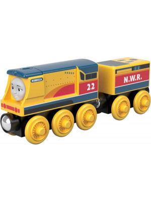 fisher-price thomas wooden trains -rebecca