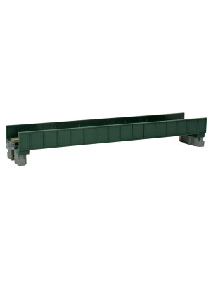 kato 20451 single-plate girder bridge green