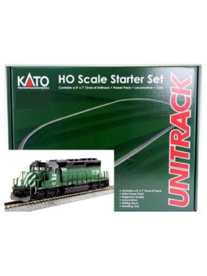 kato 302012 bn sd40-2 starter set