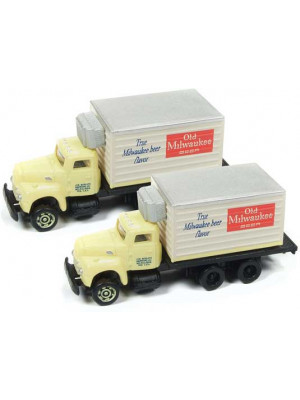 classic metal works 50375 old milw. beer truck