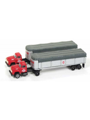 classic metal works 51169 mclean tractor/trlr 2pk