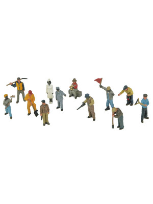mth 30-11066 railroad workmen 12 pieces