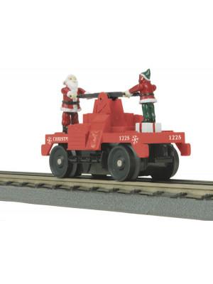 mth 30-2573 christmas operating hand car
