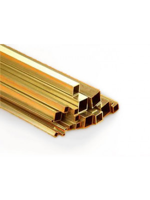 k & S 8149* 1/16 square brass tube