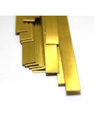 "k & s 8241 .032"" x 1/2"" x 12"" brass strip"