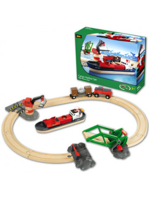 brio 33061 cargo harbor set