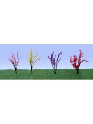 jtt 95502 flower bushes 48 pack