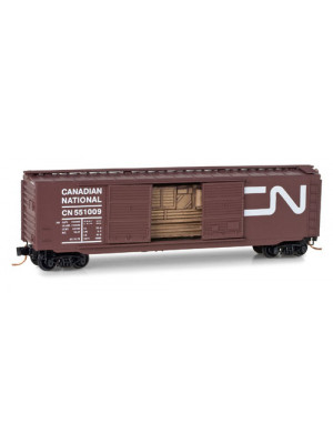 micro trains 03400370 canadian national boxcar