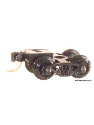 micro trains 1000b brown bettendorf trucks w/cplr