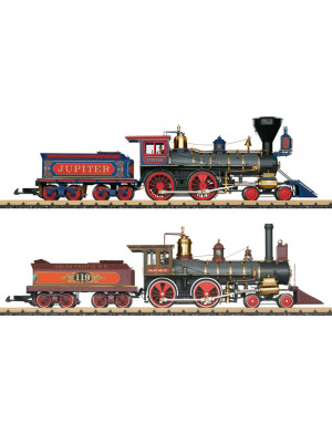 lgb 29000 golden spike steam locomotives set