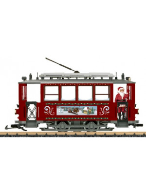 lgb 72351 christmas street car starter set