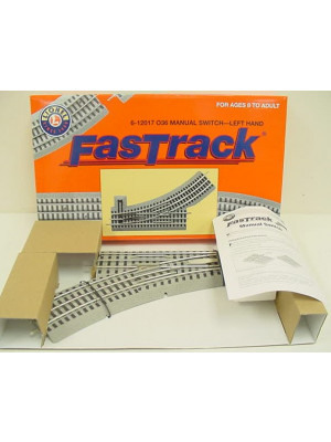 lionel 12017 fastrack manual left switch