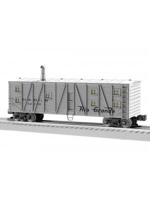 lionel 1926161 rio grande bunk car #x2380