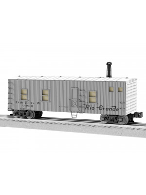 lionel 1926220 rio grande kitchen car w/snds