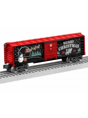 lionel 1928490 2019 christmas boxcar