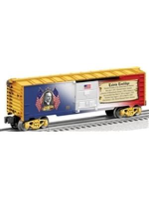 lionel 25932 calvin coolidge presidential boxcar
