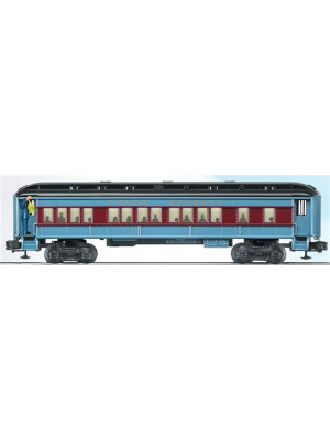lionel 36875 polar express coach with announcement