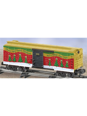 american flyer 48363 2006 christmas boxcar
