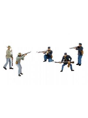 woodland scenics 4445 civil war soldiers