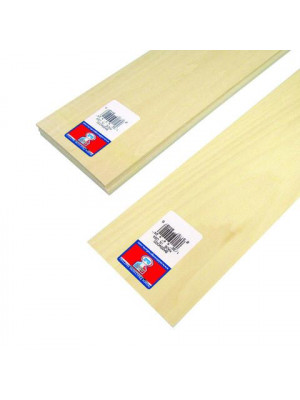 midwest products 4401 1/32 X 4 X 24 basswood
