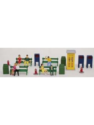 model power 5710 park scene