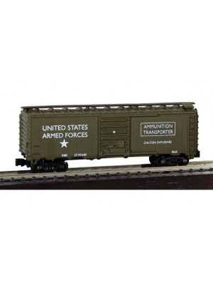 model power 83715 us army boxcar