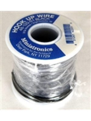 minitronics 48-120-01 22 gauge black wire 100'