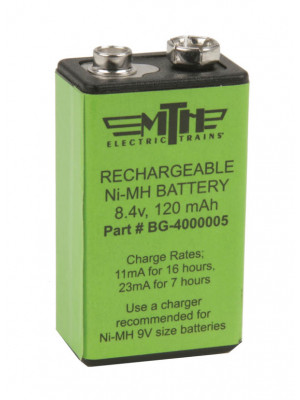 mth 50-1008 rechargeable battery