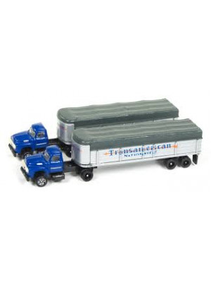 classic metal works 51170 trans tractor/trlr 2 pk
