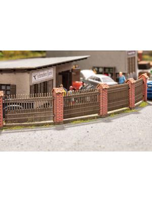 noch 14235 fence w/brick columns