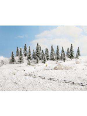 nich 26929 snow fir trees 5-9cm 5pk