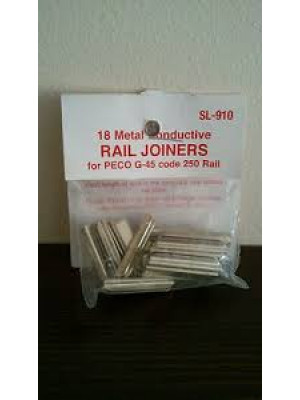 peco sl910 g scale nickle silver rail joiners