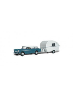 woodland scenics 5532 thompsons travelin trailer