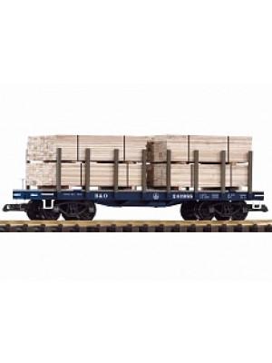 piko 38741 b&o flatcar w/lumber load