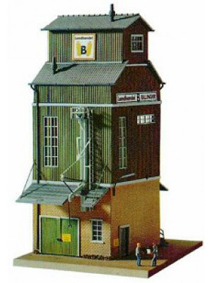 piko 61114 grain elevator kit ho scale