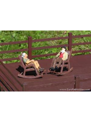 piko 62295 rocking chairs 2 pk