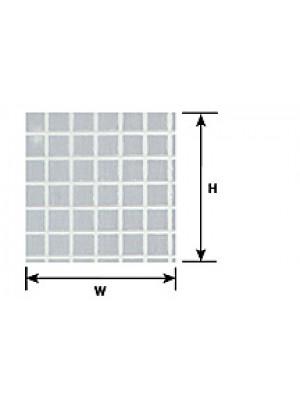 "plastruct 91544 15/64"" square tile sheet undecortd"