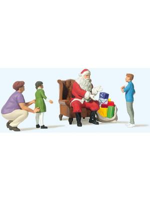 preiser 10763 santa w/mother and kids